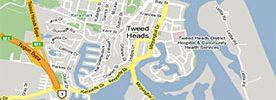 far north coast nsw map